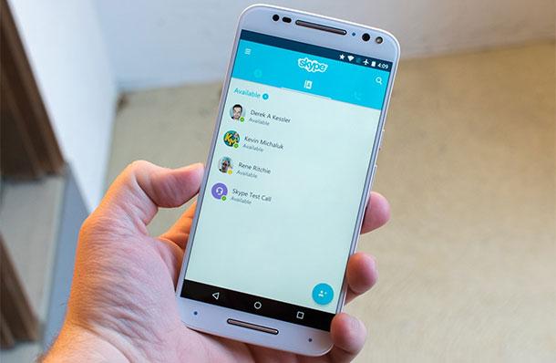 aplicación en el iPhone de más a descargar Skype