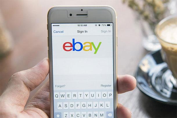 aplicación en el iPhone de más a descargar-ebay